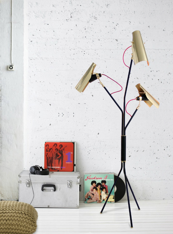 Cool Mid Century Modern Floor Lamps For Your Living Room Decor Ideas