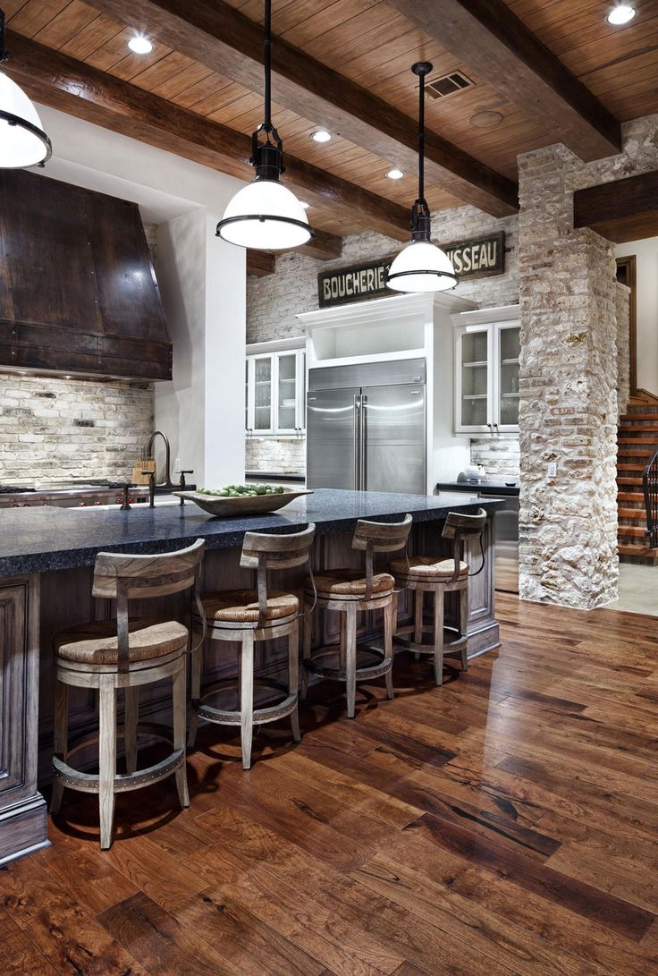 INSPIRING INDUSTRIAL INTERIORS USING RUSTIC BRICK WALLS Industrial Interiors