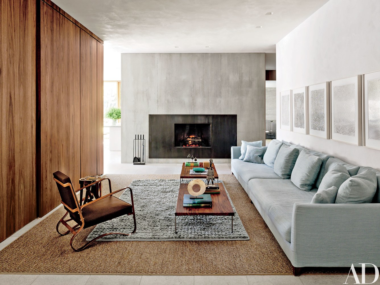 GET INSPIRED BY THIS MID-CENTURY MODERN HAMPTONS HOME