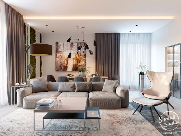 INSPIRING MODERN OPEN PLAN LIVING ROOM IN MINSK open plan living room INSPIRING MODERN OPEN PLAN LIVING ROOM IN MINSK INSPIRING MODERN OPEN PLAN LIVING ROOM IN MINSK 3