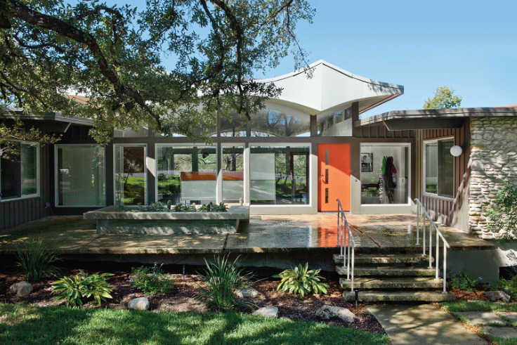 Home makeover a garage turned into a perfect home for for Modern home decor austin