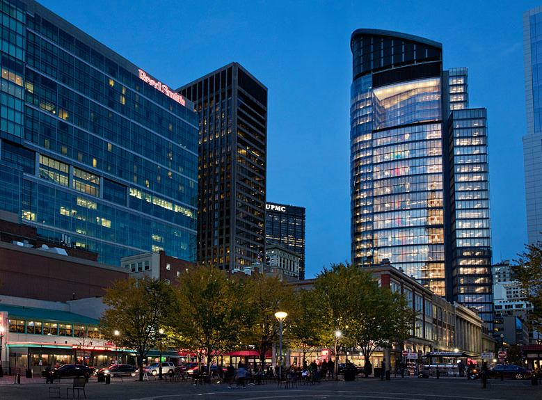 DISCOVER THE TOWER AT PNC PLAZA IN DOWNTOWN PITTSBURGH BY GENSLER