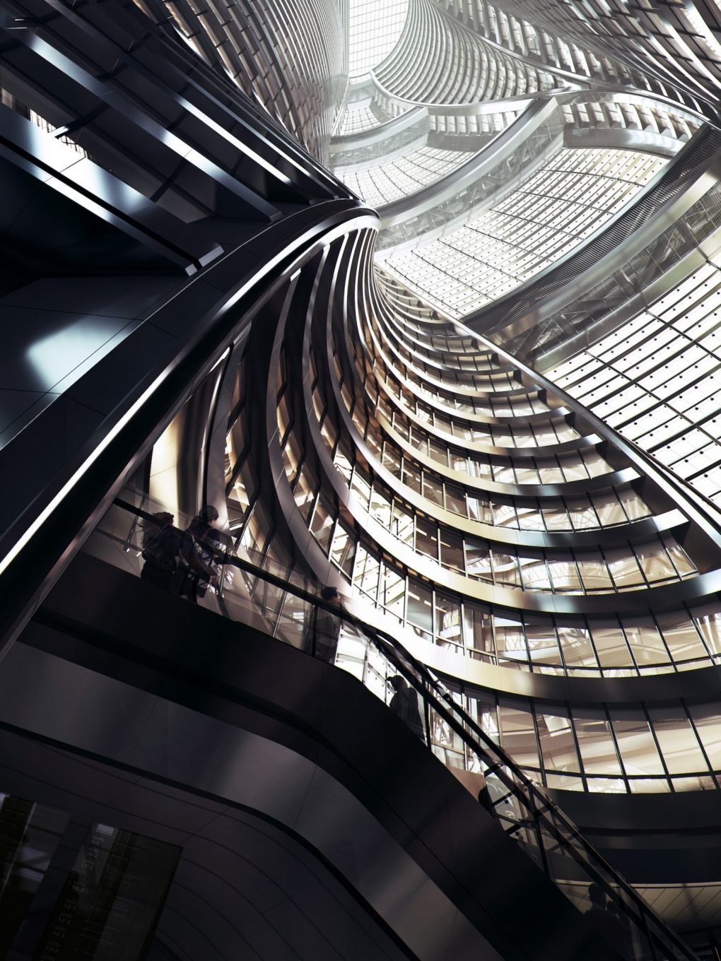 ZAHA HADID ARCHITECTS DESIGNED WHAT WILL BE THE WORLD'S LARGEST ATRIUM