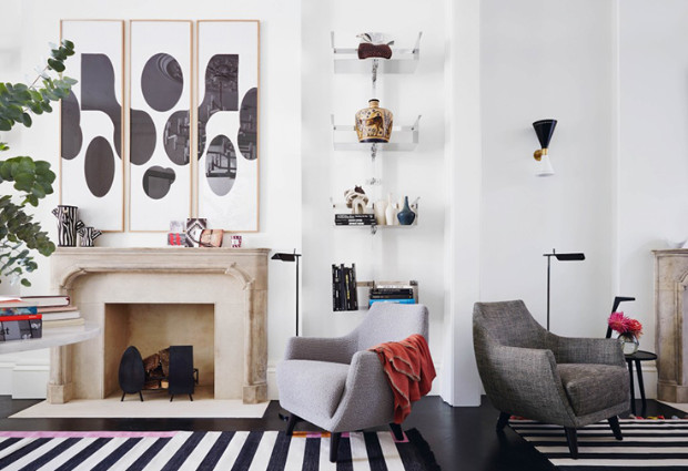 THESE ARE SOME OF THE BEST INTERIOR DESIGN PROJECTS BY SUZY HOODLESS British taste maker, Suzy Hoodless THESE ARE SOME OF THE BEST INTERIOR DESIGN PROJECTS BY SUZY HOODLESS 04