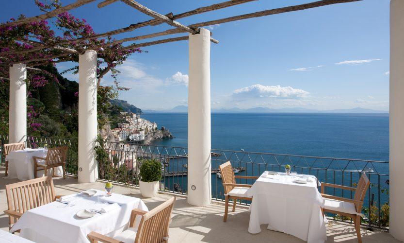 Studio Simonetti Spells Luxury In A Five Star Hotel In Amalfi