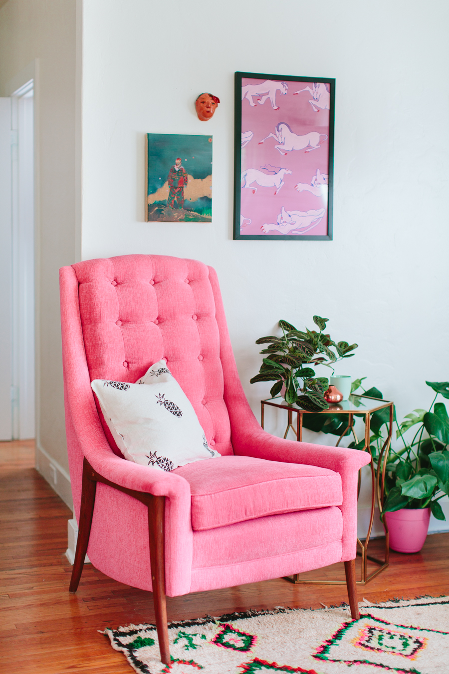 Color Week Inspirations: Pink Monday Color Week Inspiration: Pink Monday Mood Board The Ultimate Pink Shade for a Modern Home Decor 14