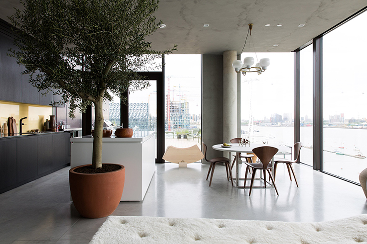 Cereal Magazine Takes A Contemporary Show Flat By Storm Cereal Magazine Takes A Contemporary Show Flat By Storm abode cereal interiors residential london dezeen 2364 col 29