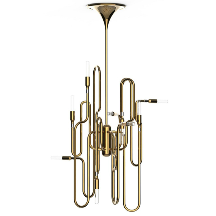 3 Clever Mid-Century Lighting Designs Inspired by Musical Instruments