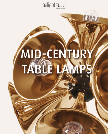 Mid-Century Table Lamps - The New E-book by DelightFULL