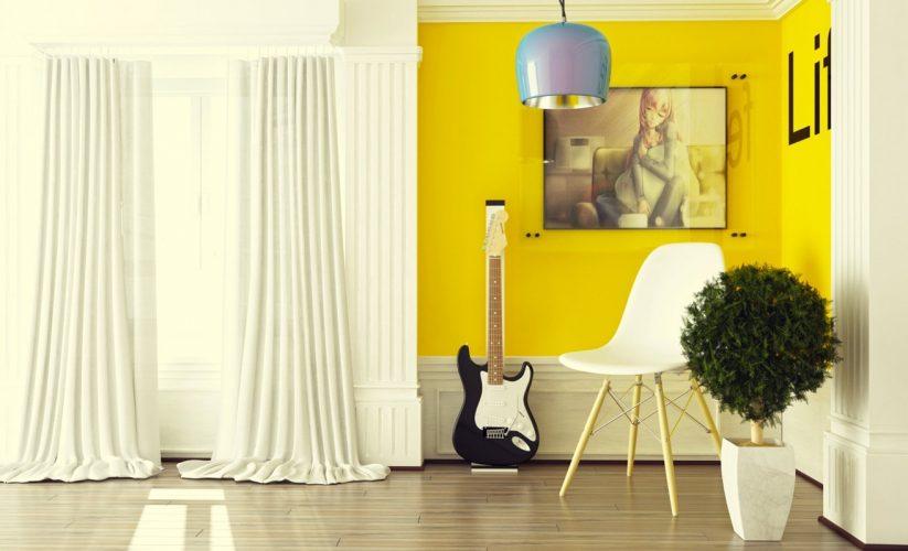 How To Rock: Primrose Yellow Decor