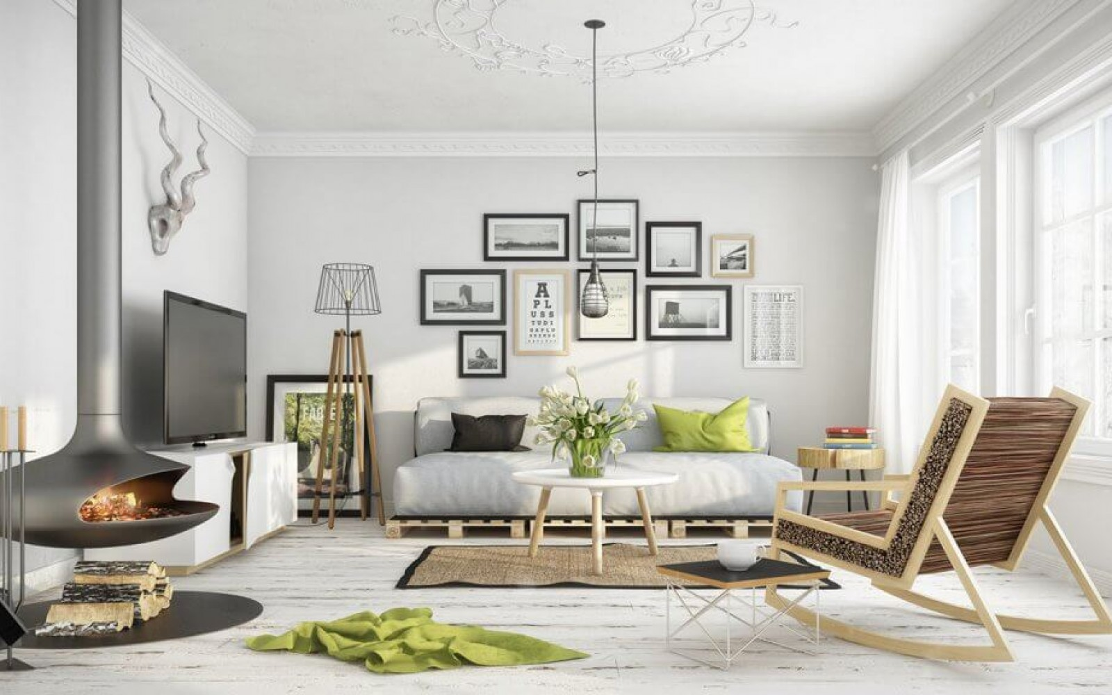 What S Hot On Pinterest 5 Scandinavian Living Rooms Ideas 6 Room