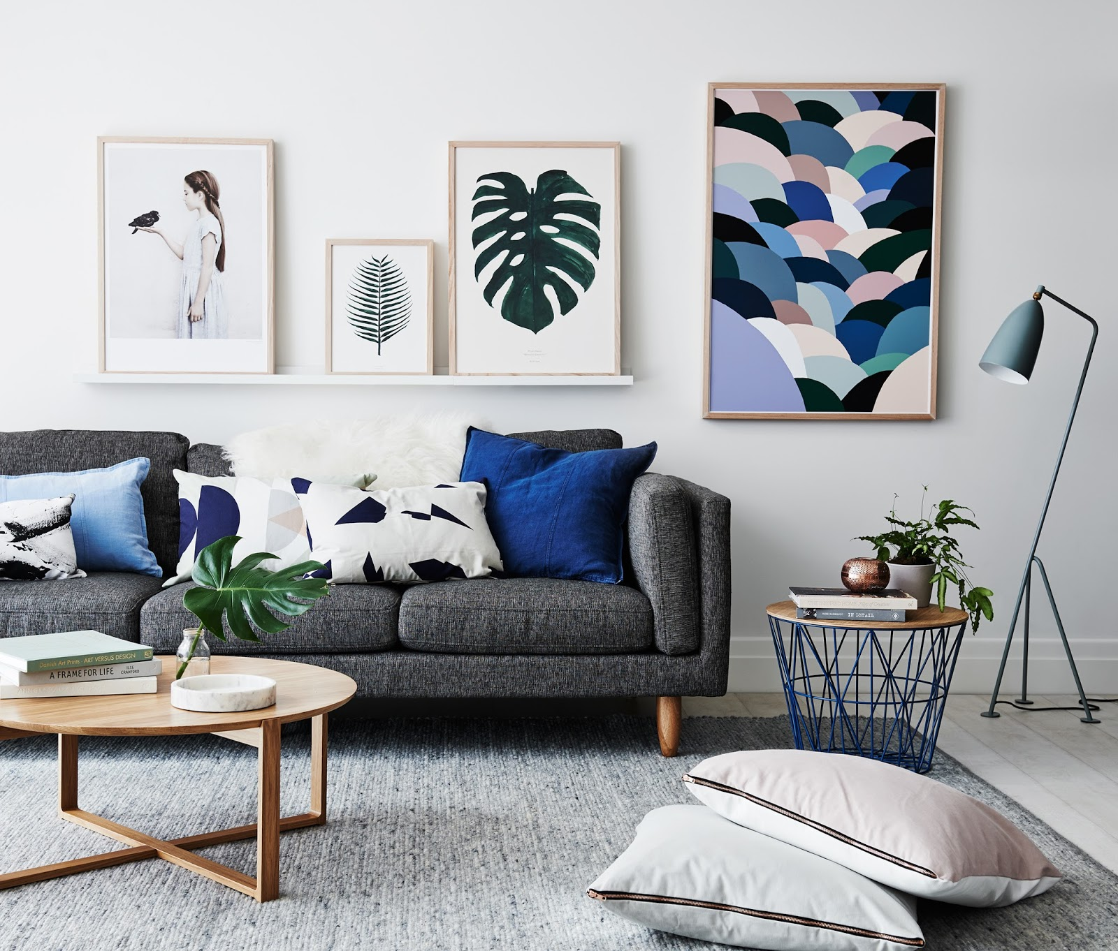 what s hot on pinterest 5 scandinavian living rooms ideas
