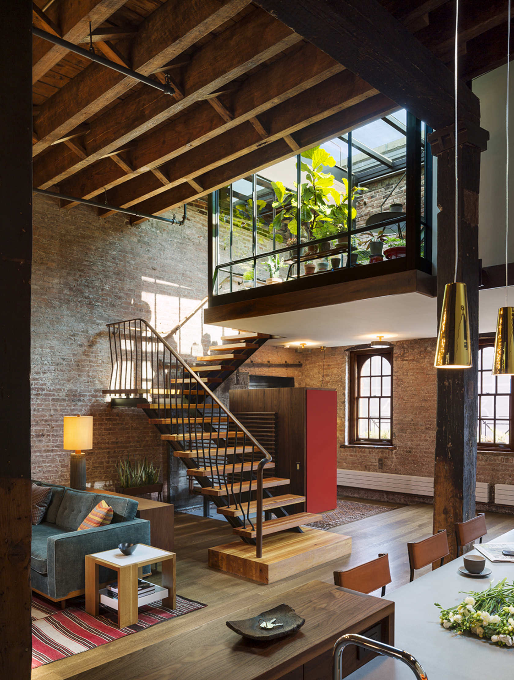 What's Hot on Pinterest 5 New York Industrial Lofts 3