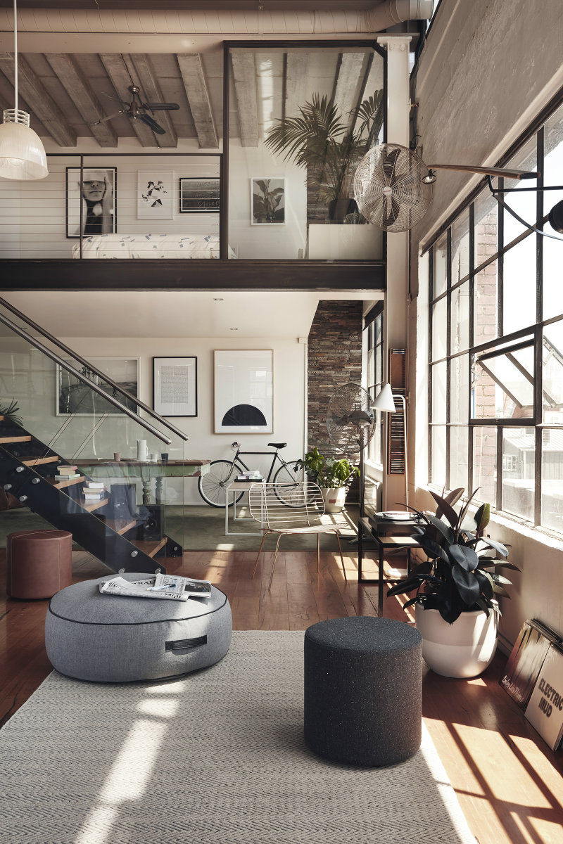 What's Hot on Pinterest 5 New York Industrial Lofts 6