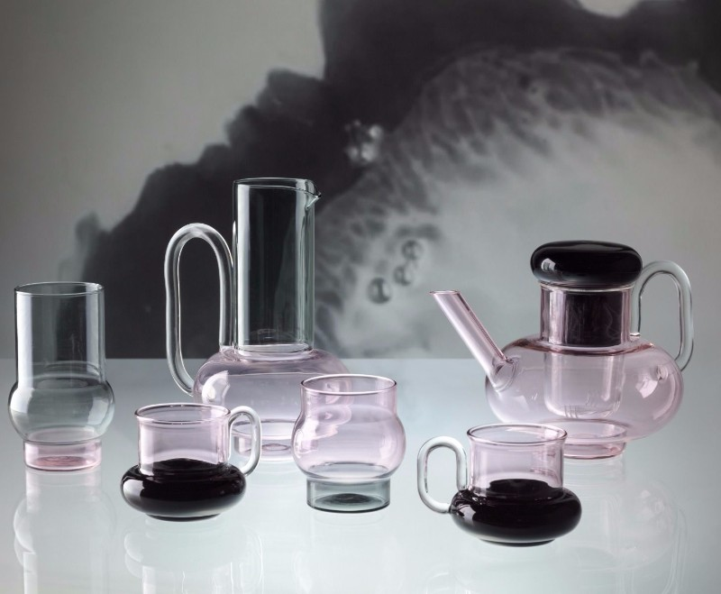new glassware collection Tom Dixon Presents His New Glassware Collection bump drinks story 1