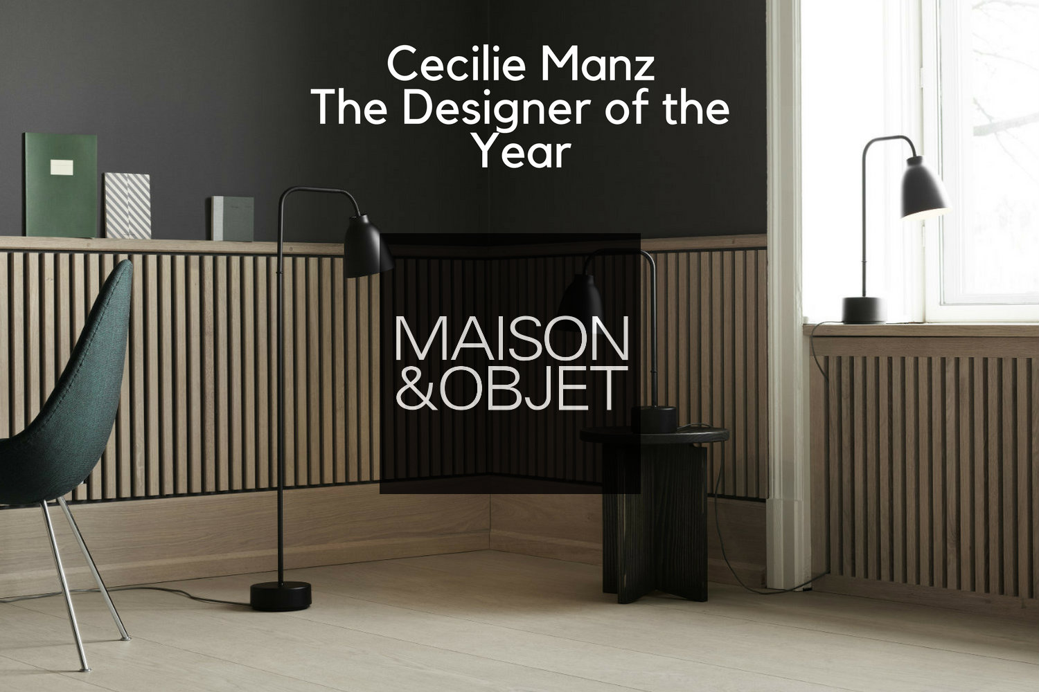 Assez Cecilie Manz: The Designer of The Year at Maison et Objet 2018 QY31