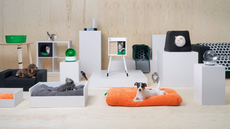 IKEA Launches Their First Furniture Collection For Cats and Dogs