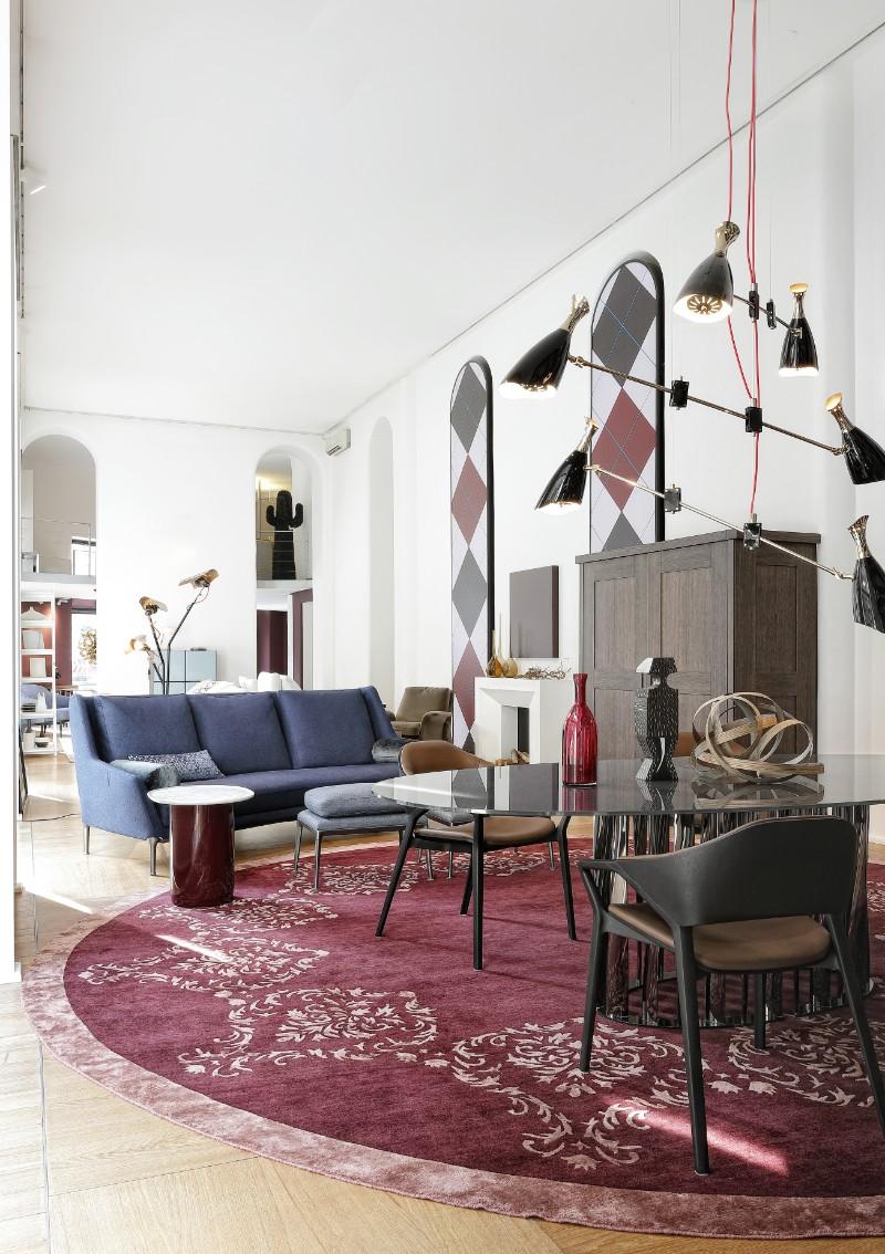 SAG'80 The Most Stunning Mid-Century Modern Showroom in Milan 9