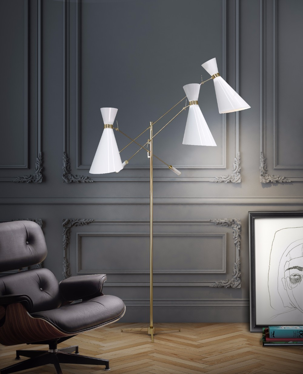 The Story Of How White Lamps Will Change Your Winter Decorations 4 white lamps