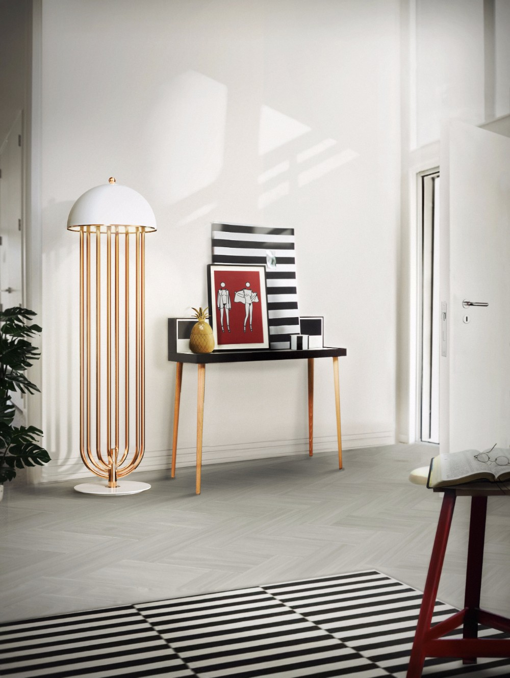 Trending Product Let's Dance with This Trendy Mid-Century Floor Lamp 2