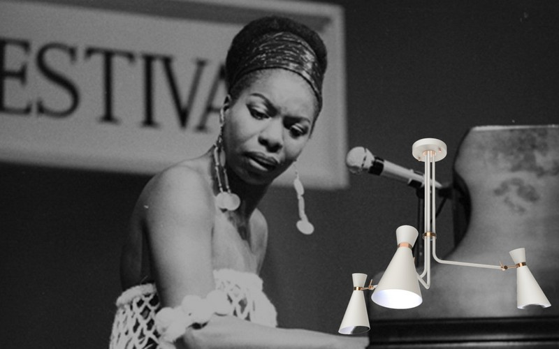 Simone is a Soulful Inspired Mid-Century Lamp 4