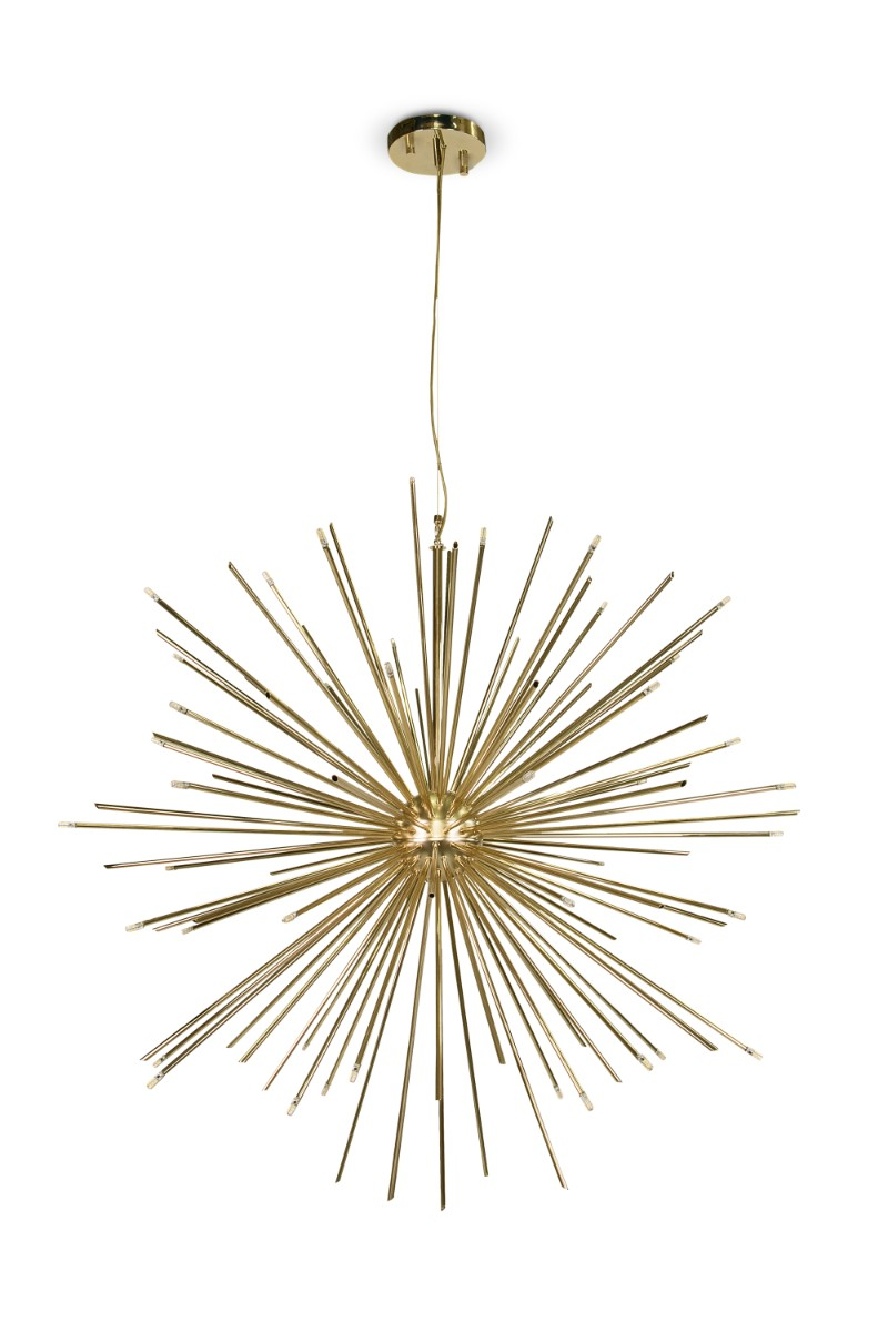 Brighten Up Your New Year's Decorations with Unique Golden Lamps 3