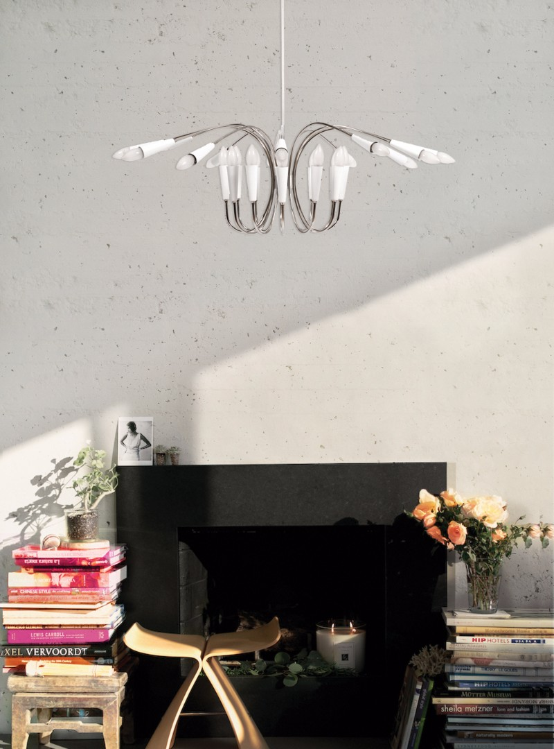 Essential Living Room Chandeliers for Your Mid-Century Modern Home 7