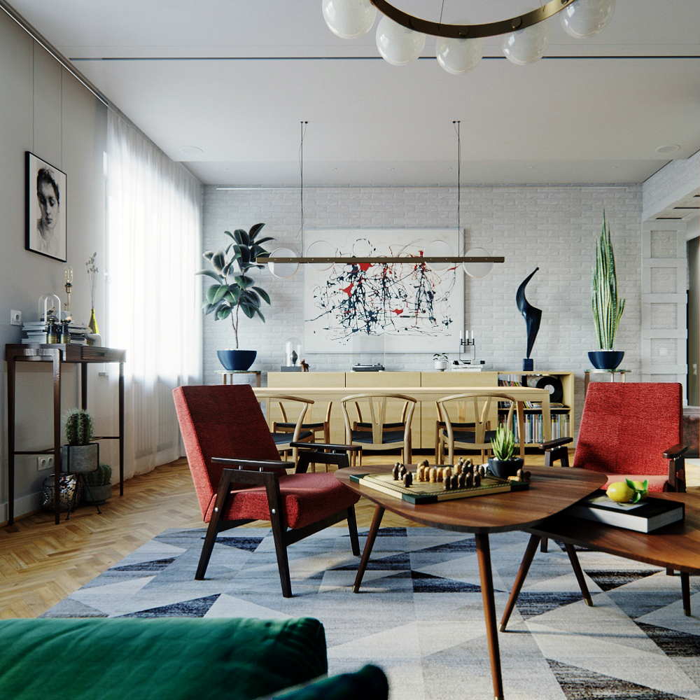 Dream House Mid-Century Style Meets Vintage in the Heart of Ukraine! 2