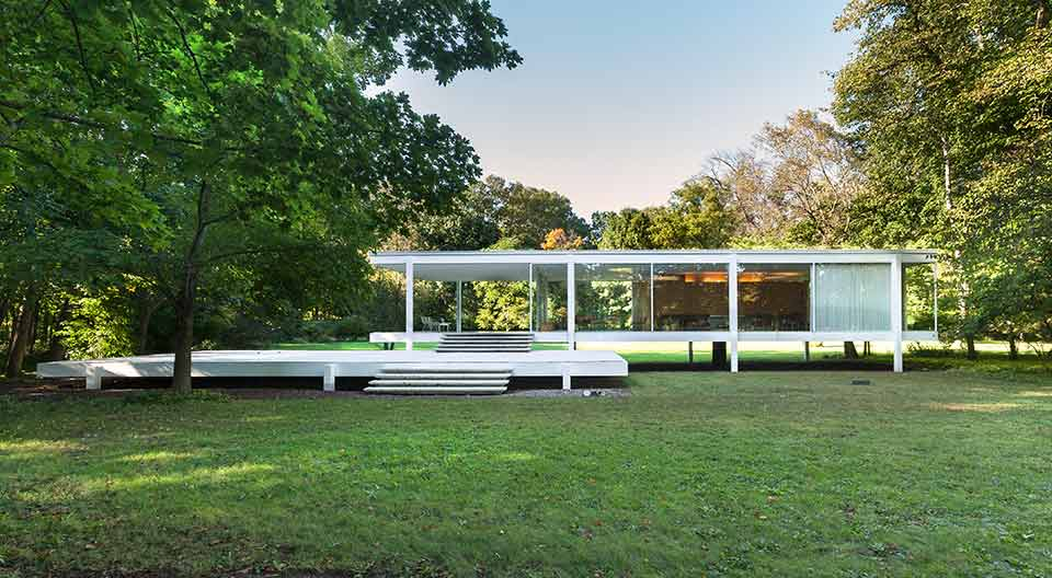 Unique Design The Renowned Farnsworth House by Mies Van der Rohe 1 farnsworth house Unique Design: The Renowned Farnsworth House by Mies Van der Rohe Unique Design The Renowned Farnsworth House by Mies Van der Rohe 1