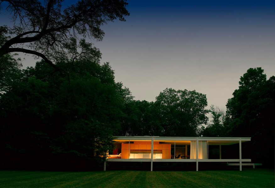 Unique Design The Renowned House by Mies Van der Rohe 9 farnsworth house Unique Design: The Renowned Farnsworth House by Mies Van der Rohe Unique Design The Renowned Farnsworth House by Mies Van der Rohe 9