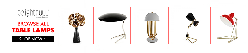 Delightfull Shop Table  100% Design: Mid-Century Modern is Taking Over London! Shop table delightfull