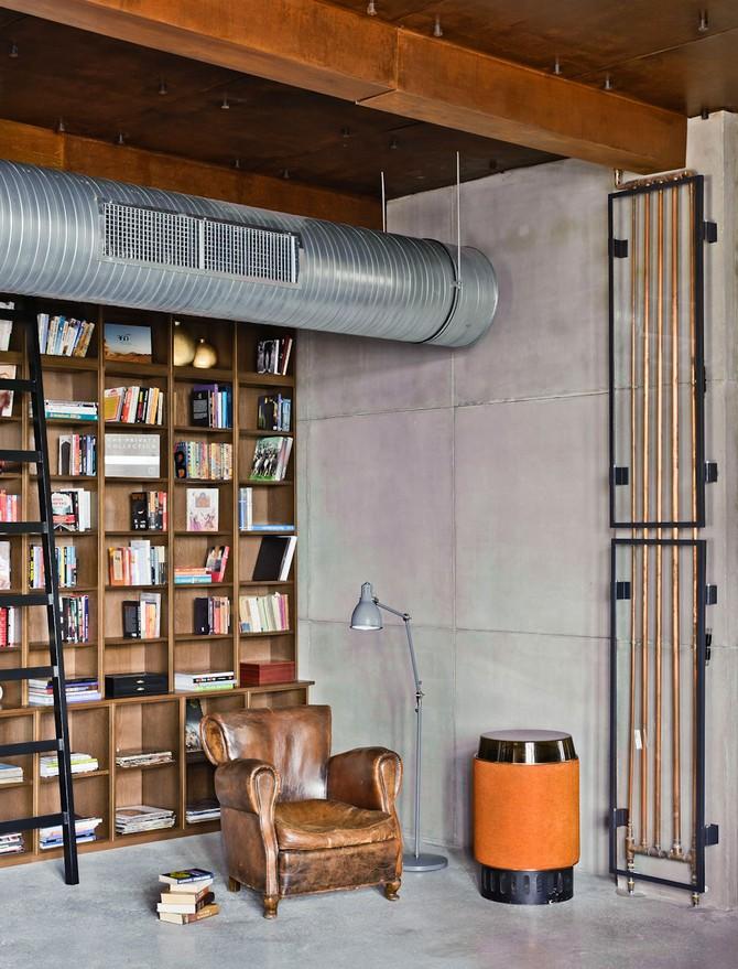 Loft Apartment Decorating Ideas Part - 50: 1 U2013 Loft-apartment-decorating-ideas-uk-london-lamps-lighting-industrial