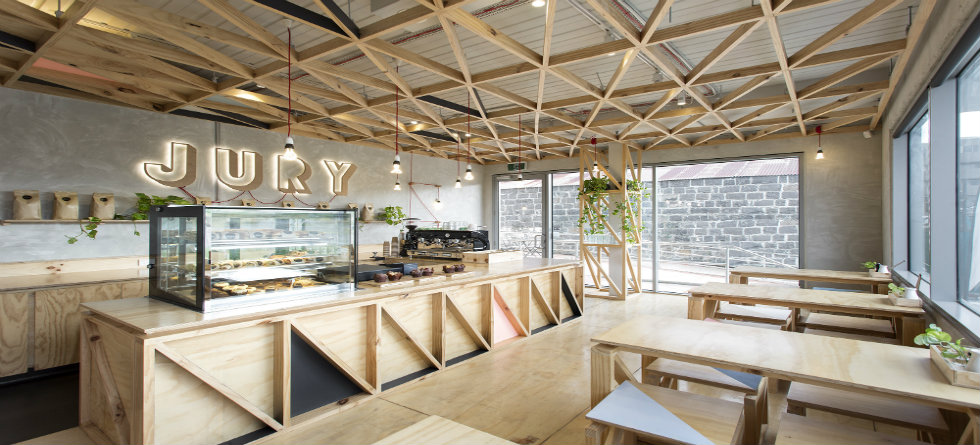 10 of the Most Quirky Design Cafes Jury Cafe by Biasol Design Studio, Melbourne – Australia