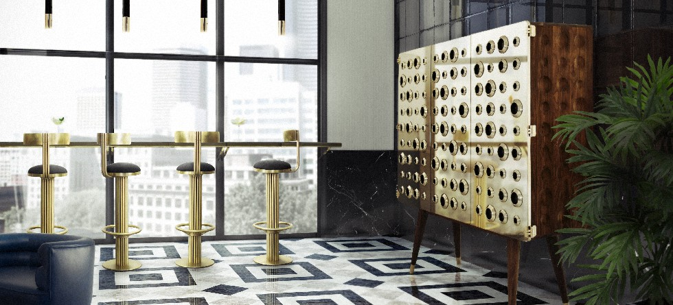 DELIGHTFULL TAKES MID-CENTURY MODERN DESIGN TO BDNY 2015 monocles cabinet essentials collection