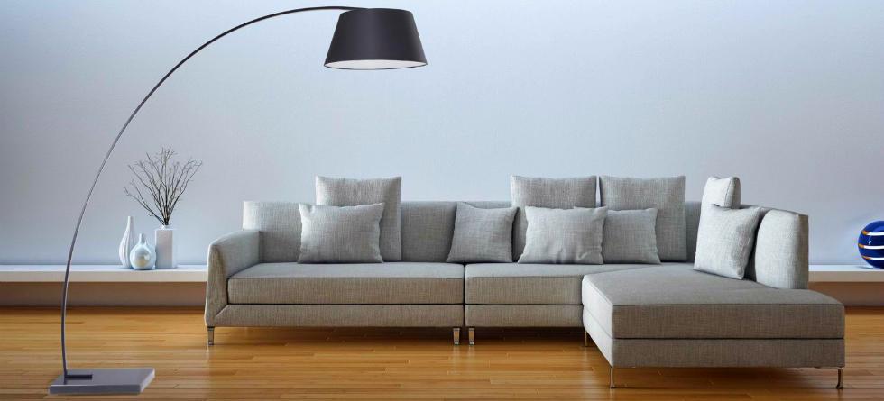 Living Room A Modern Floor Lamp, Floor Lamps For Living Room Modern