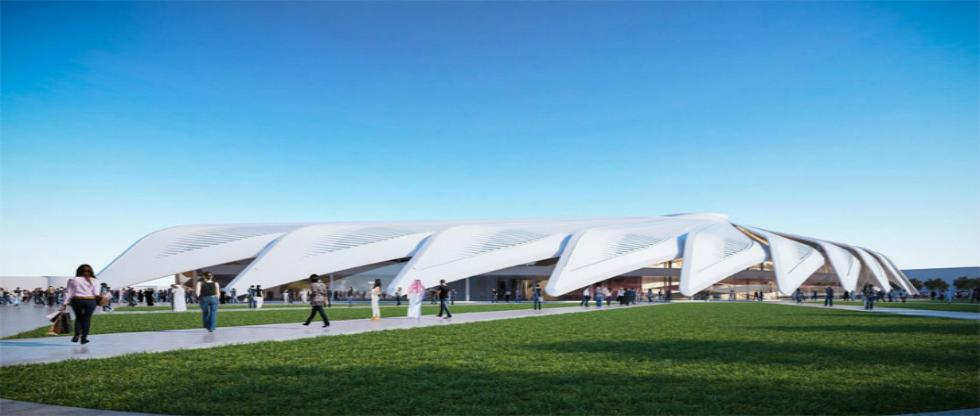 Santiago Calatrava's falcon pavilion chosen to represent UAE at dubai expo 2020