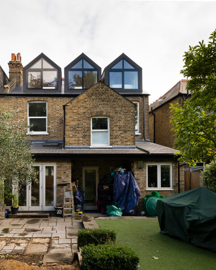 A victorian house converted into a for How to build a victorian house