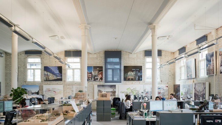 bdp Take a look at those amazing 18 Architect studios in London
