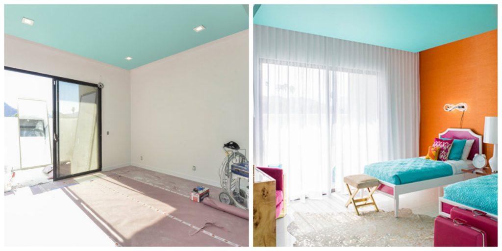 BEFOREu0026AFTER: DESIGN TRANSFORMATIONS INSIDE A MID CENTURY MODERN HOME  Mid Century Modern BEFOREu0026AFTER