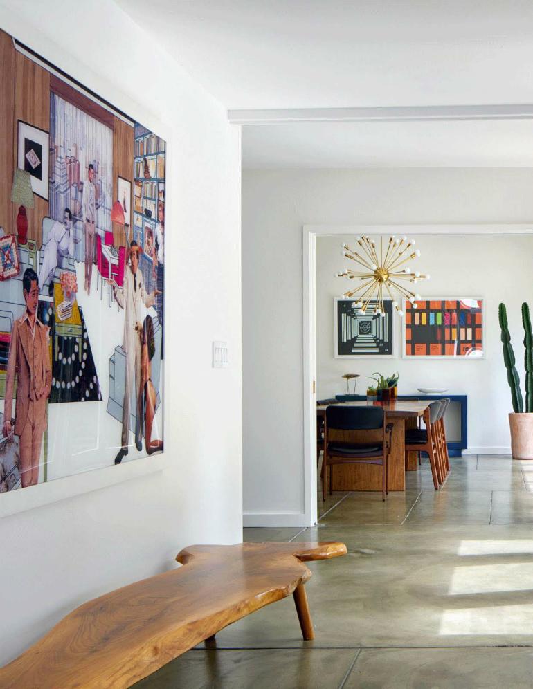Living Room ideas: Mid-Century Modern Home in Berkeley Hills
