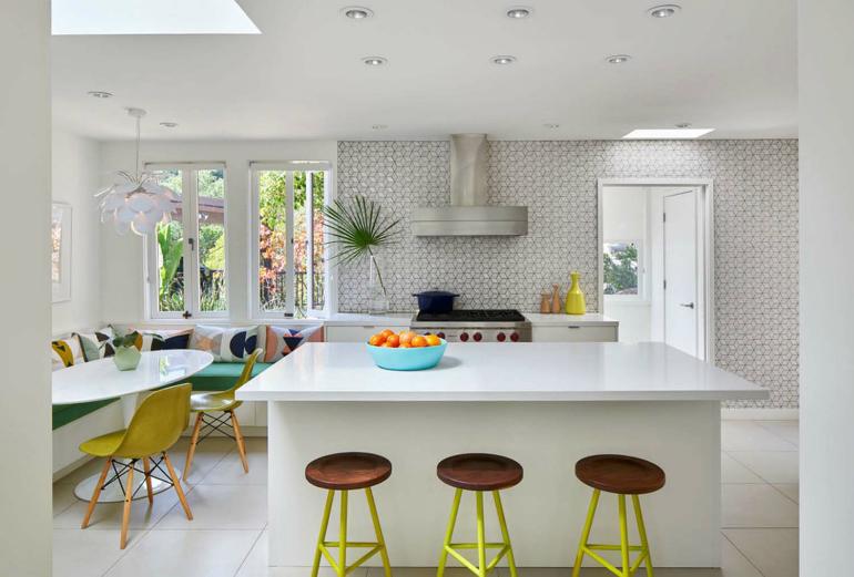 Living Room ideas: Mid-Century in Berkeley Hills