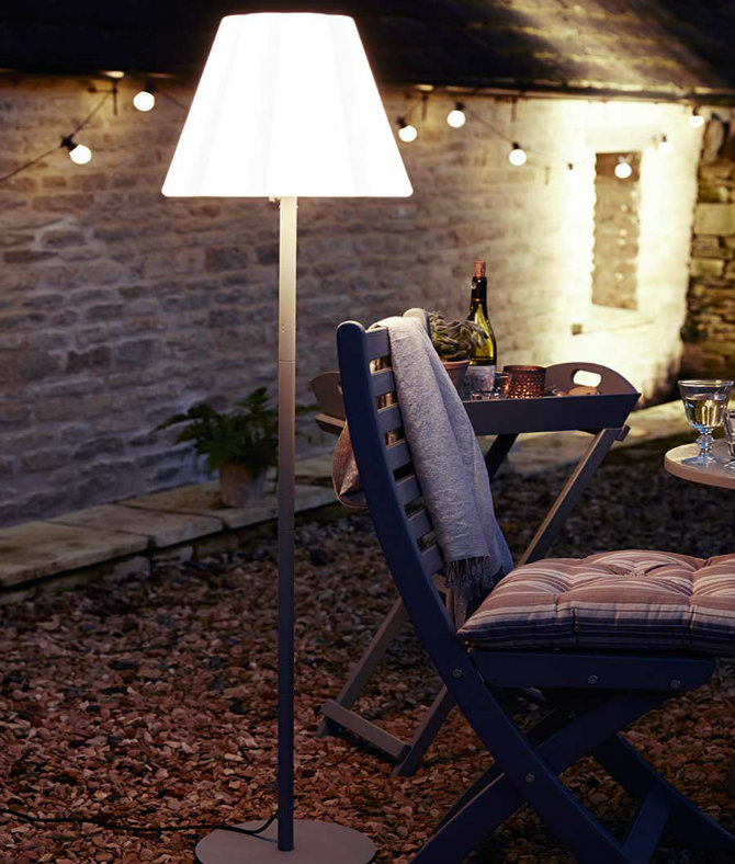 Floor Lamps To Use In A Deck Or Patio
