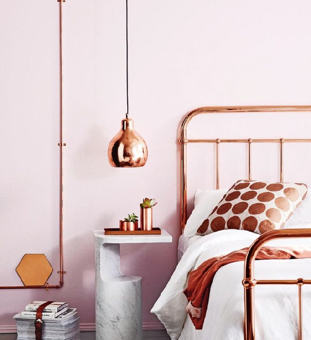 Copper And Grey Bedroom Ideas: 10 Bedroom Decorating Ideas With The Best Lighting