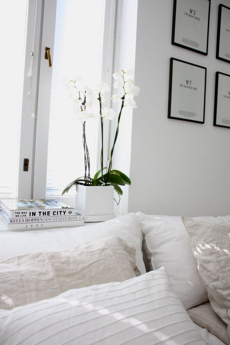 All White Bedroom Decor