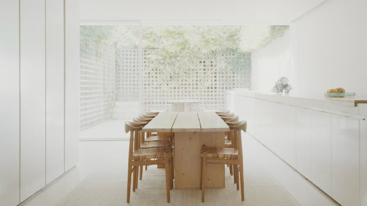 A look inside john pawson minimalist living home studio for Minimalist house london