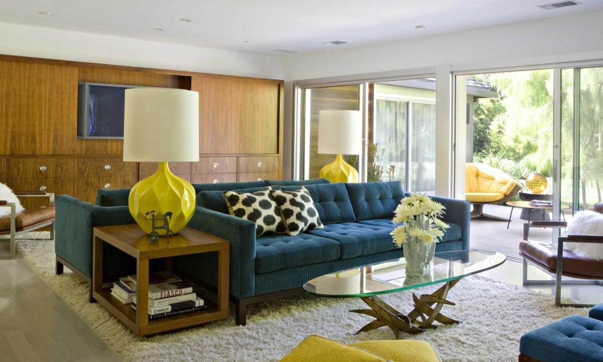 Inspiring Mid Century Modern Living Rooms