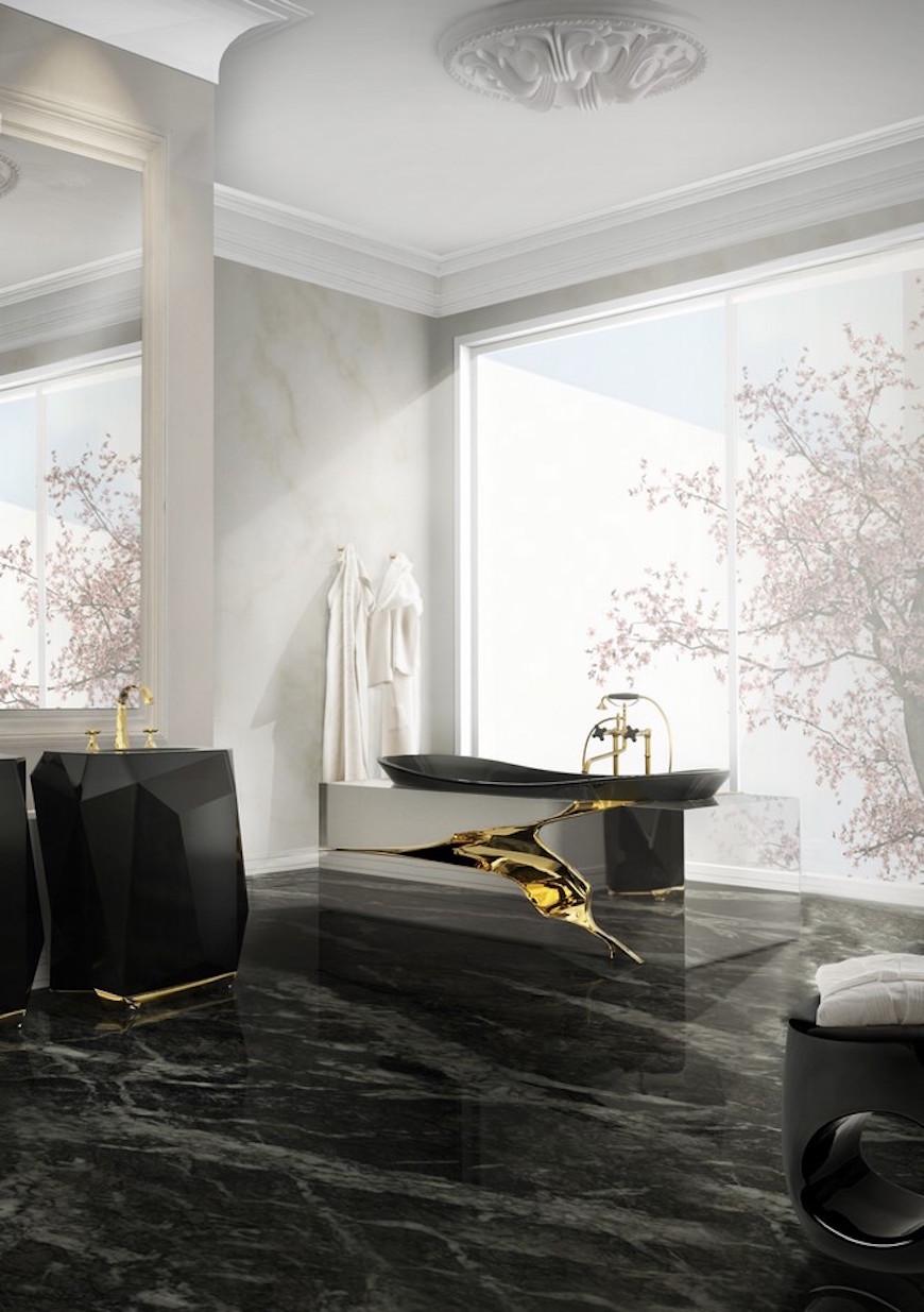 UNIQUE IDEAS: LET'S TURN YOUR BATHROOM INTO BLACK