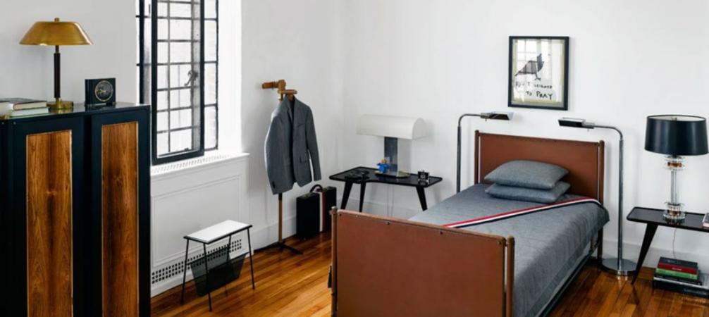 Inside Fashion Designer Thom Brownes Manhattan mid century Apartment