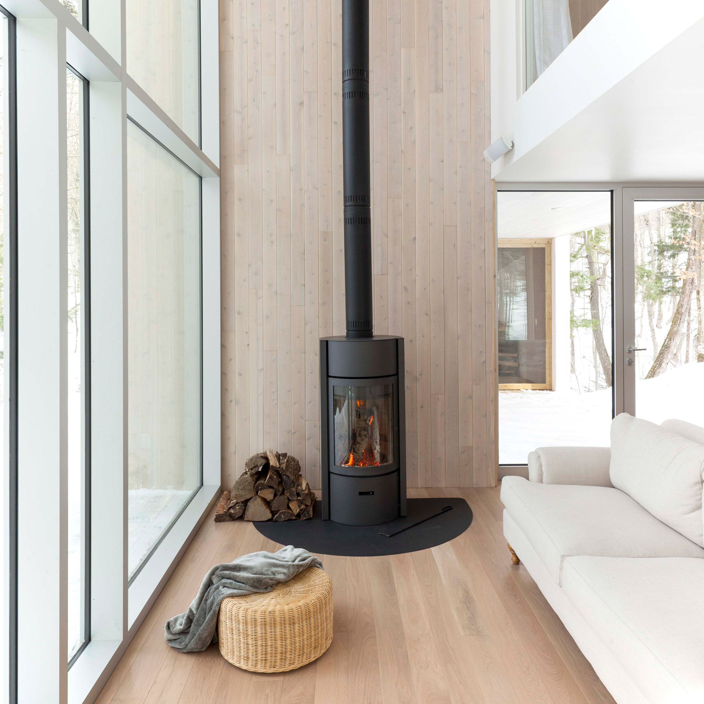 15 Cozy Homes With Fireplaces From Pinterest Boards