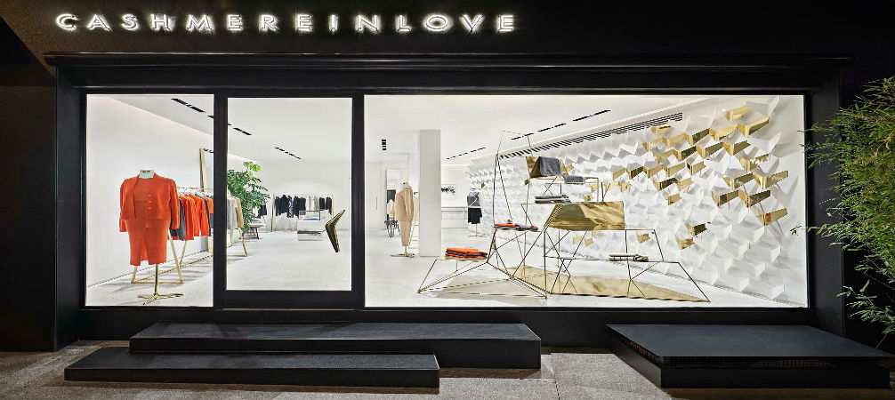 Boutique in Istanbul by URAStudio combines interior design and fashion